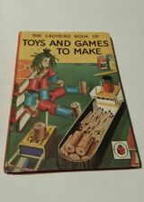 The ladybird book of toys and games to make ( uk hard cover ) series 633