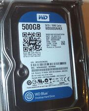 WD Western Digital 500GB Blue Internal Hard Drive WD5000AAKX SATA New/Sealed
