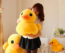 "9"" Plush Yellow Rubber Duck Toys Stuffed Animal Cushion Soft Dolls Pillow 20cm"