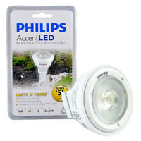 New Lot 3 Philips LED MR11 Bulb Accent Indoor Outdoor Floor Cool white 12V 3W