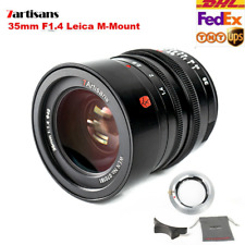 7artisans 35mm f1.4 Full Frame Lens for Leica M-Mount Cameras