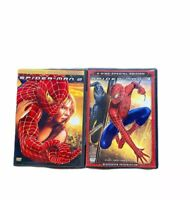 DVD Movie Spiderman 2 and 3 Widescreen Special Edition Color
