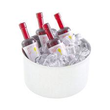 Miniature Dollhouse FAIRY GARDEN - Mini Wine Bottle Bucket - Accessories
