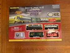 Pre-owned, HO SCALE Train Set Bachmann Thunder Chief DCC & Sound Equipped