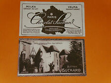 CHROMO PHOTO CHOCOLAT SUCHARD 1928 FRANCE COUCHES LES MINES SAONE & LOIRE