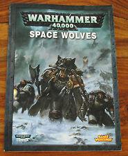 Livre WARHAMMER 40000 40K SPACE WOLVES (Version Française)