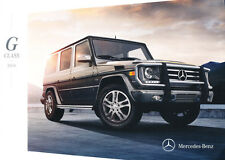 2014 Mercedes Benz G-Class G550 G63 AMG 24-page Car Sales Brochure Catalog