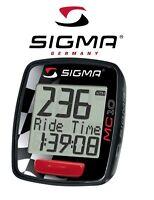 COMPTEUR DIGITAL SIGMA SPORT MOTO SCOOTER MC 10 300 KM/H VELO CYCLO VTT VTC BMX