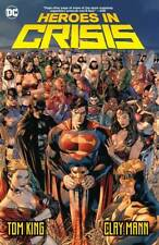 HEROES IN CRISIS HARDCOVER DC Comics Collecting #1-9 HC