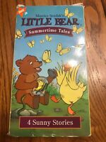 Little Bear - Summertime Tales VHS Ships N 24h