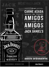Carne Asada Jack Daniels Poster 18 By 24