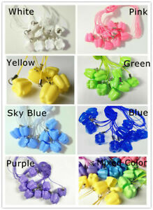 140pcs Dental Milk Teeth Holder Boxes Plastic Necklace Baby Kids Toy Souvenir