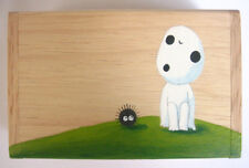 Princess Mononoke KODAMA paint wood box Studio Ghibli 1