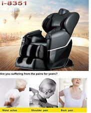 Brand New Massage Chair 8351 Zero-G Human Touch Heating Foot Roller Black