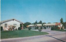 Postcard FL Florida Lake Wales Woodvale Motel Polk County ca1950s