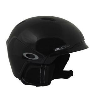 Oakley MOD3 2017 Snowboarding Helmet Polished Black Mens S Small Unisex Ski Snow