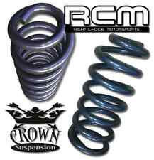 """Crown Suspension 3"""" Front Lowering Coil Springs Drop Kit for 1965-1986 Chevy C10"""