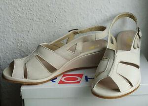 NEU ROHDE ECHT LEDER Sandalen Sandaletten Sneaker Outdoor Keilabsatz Gr. 6 39