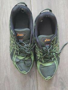 ASICS Men's GEL-Venture 6 Running Shoes, Green/Orange, Sz 10.5 Jock Worn