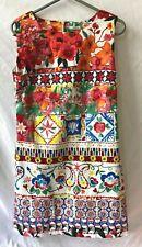 """Desigual"" flowered dress, size 42 / 10 - (EPP)"