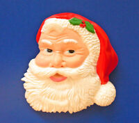 Hallmark PIN Christmas Vintage SANTA CLAUS St Nick FACE Holiday Brooch