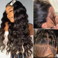 Loose Body Wave 360 Lace Front Wig 100% Indian Virgin Human Hair Full Lace Wig W
