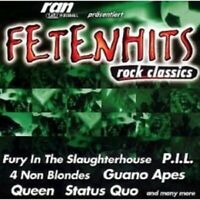 FETENHITS-ROCK CLASSICS 2 CD NEU