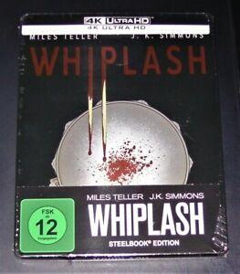 Whiplash (2014) 4K Ultra HD blu ray Limitata steelbook Edition Nuovo Originale