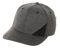 NEW + TAG BILLABONG MENS BOYS STATION L-XL CURVED PEAK STRETCH FIT CAP HAT BLACK
