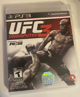 Playstation 3 PS3 UFC Undisputed 3 (Sony PlayStation 3, 2012) Complete