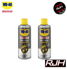 WD40 Specialist Motorbike Motorcycle Chain Lube Wax X2 400ml WD-40 BMW