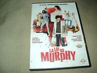 "DVD NEUF ""LA LOI DE MURPHY"" Pio MARMAI, Omar SY, Jonathan LAMBERT, Fanny VALETTE"