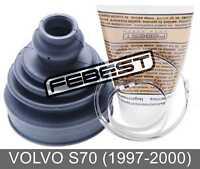 Boot Inner Cv Joint Kit 83X118X22.3 For Volvo S70 (1997-2000)
