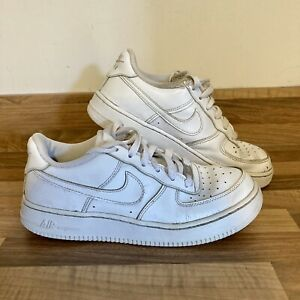 Nike Air Force 1 UK Size 5 Youths Shoes Trainers White