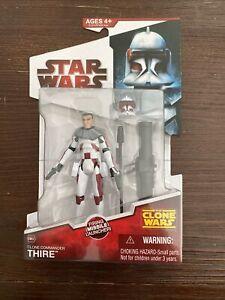 New Hasbro Star Wars The Clone Wars Clone Commander Thire CW32 2009