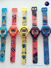Unbranded Silicone/Rubber Band Plastic Case Wristwatches