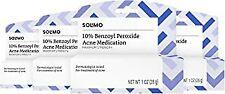 Amazon Brand - Solimo 10% Benzoyl Peroxide Acne Medication, Maximum Strength,.