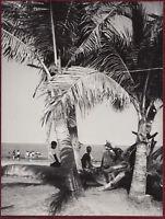 1969 Original Photo Asia Manila Philippines Island Nalinac Seaside Resort CNA
