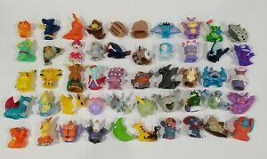 Pokemon Finger Puppet Figure Set / Lot of 50 Catch em All Nintendo Bandai #2