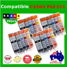 20X Ink Cartridge For Canon PGI525 CLI526 PIXMA MG6150/6250/8150 IP4850/4950