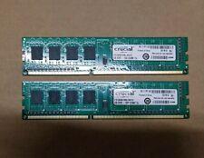 Crucial PC3-12800 4GB UDIMM 1600 MHz PC3-12800 DDR3 SDRAM Memory...