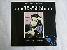 "No More Lonely Nights UK 12"" Vinyl Single Paul McCartney 45RPM Parlophone record"