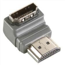 Bandridge 90 ° ángulo de alta velocidad HDMI Adaptador Con Ethernet