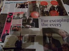 MATTHEW MACFADYEN CELEBRITY  CLIPPINGS PACK  GOOD CONDITION