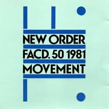 NEW ORDER movement (CD, album) new wave, synth pop, very good condition, 1981,