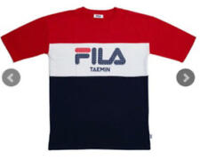 SHINee TAEMIN × FILA T-Shirt Large ARENA TOUR 2019 〜X™〜 MD Japan Official