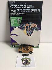 Transformers G1 Swindle COO Macau G1 100% complete Bruticus W/ Cardback MB