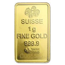 1 gram Gold Bar - Pamp Suisse Lady Fortuna Veriscan (In Assay) - SKU#82249
