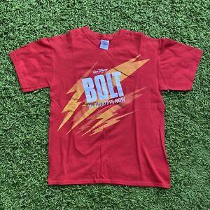Disney Bolt Movie Promo Shirt Size M