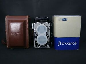 SERVICED & TESTED FLEXARET VI TLR CAMERA CZECH MEOPTA WITH BOX